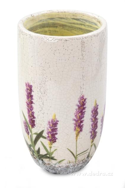 DEDRA Velká dekorativní keramická váza