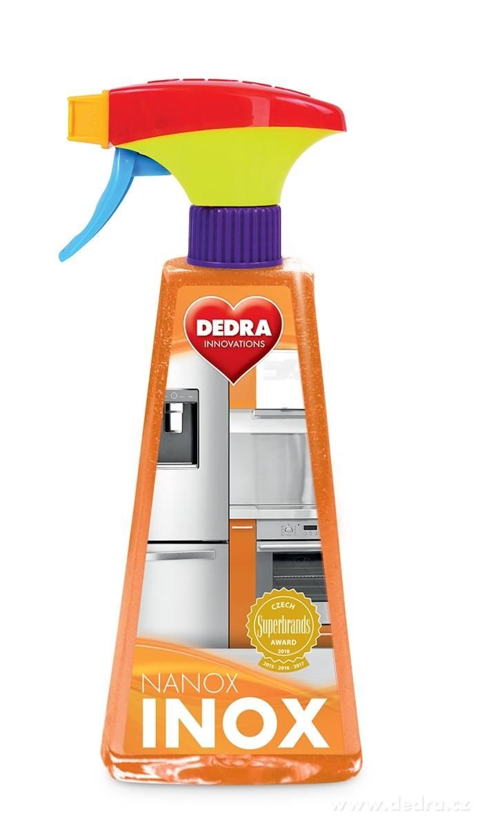 Dedra Nanox inox čistič na nerez. plochy , 500 ml