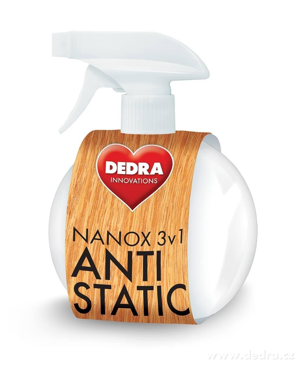 Dedra Nanox antistatic leštěnka na nábytek s antistat. účinkem , 350 ml