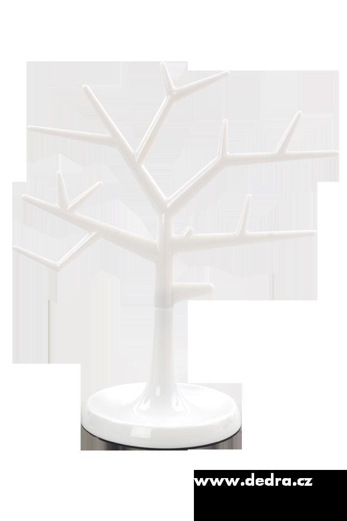 Dedra Stojan na šperky strom bílý