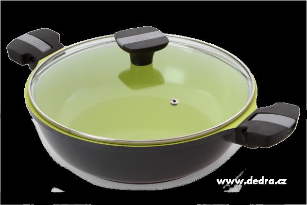 DEDRA BIOPAN wok pánev průměr 28 cm keramický povrch