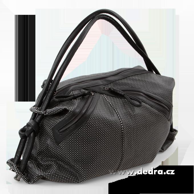 JASMINE velká elegantní kabelka černá Dedra