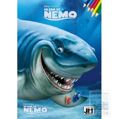 Omalovánky A5lux Hledá se Nemo