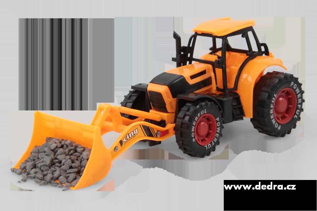 Traktor s XL radlicí na setrvačník Dedra