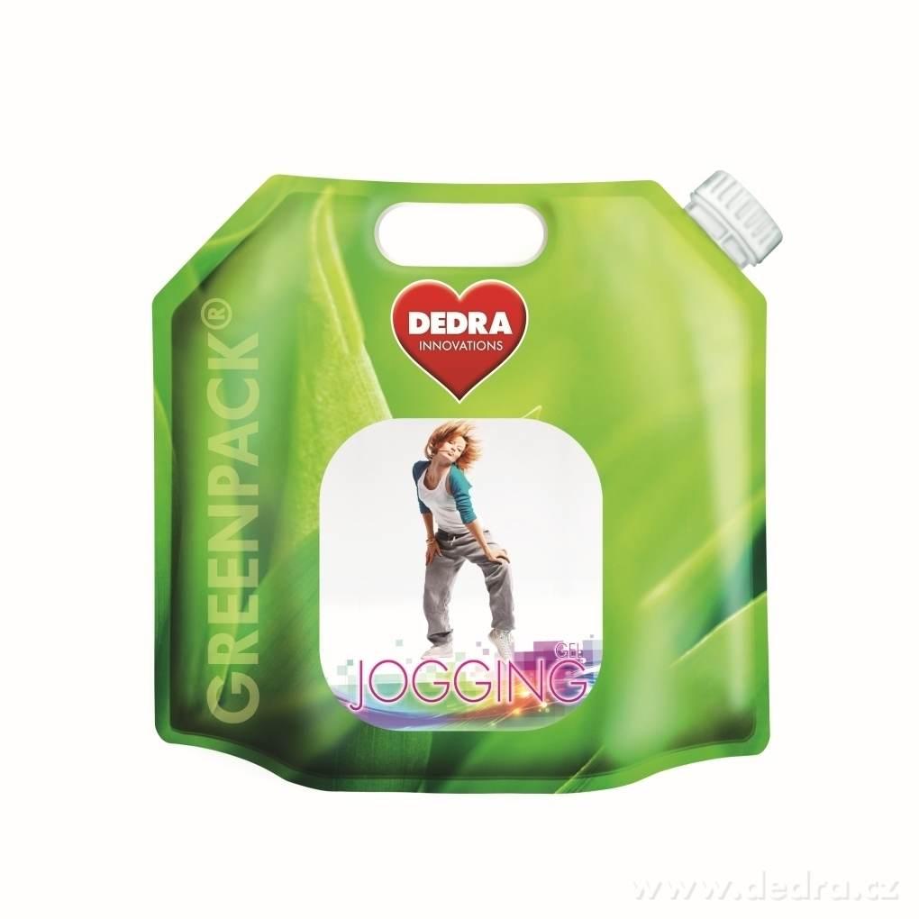 Dedra Jogging gel 2in1 55 praní na oděvy po sportu 2750ml