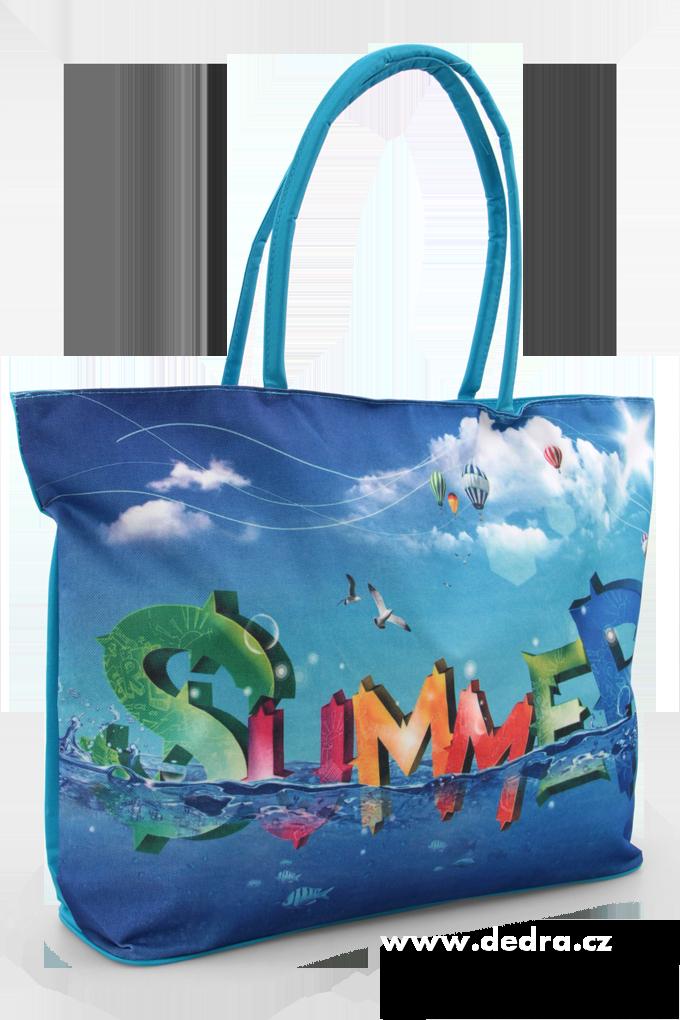 Velká textilní plážová taška Summer Dedra