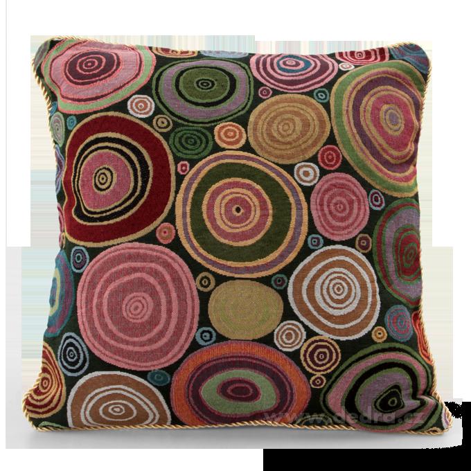 Gobelino potah na polštář Color Circles Dedra