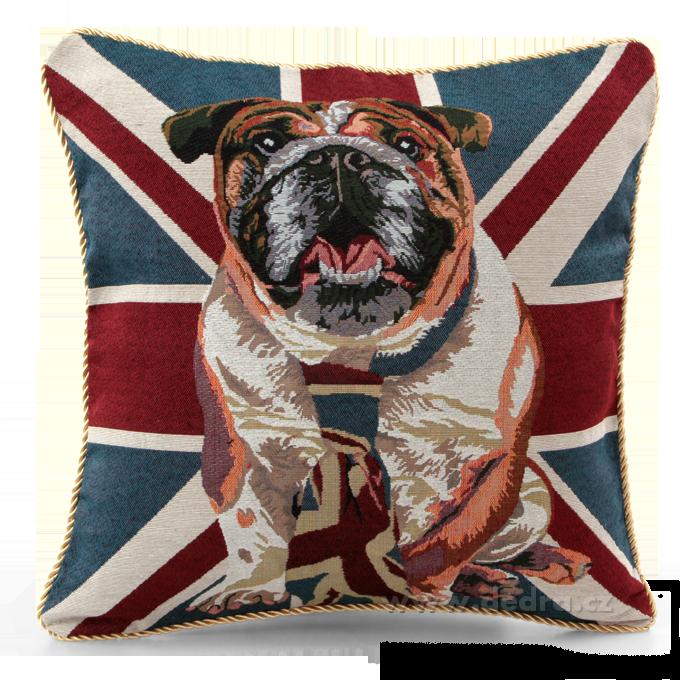 Gobelino potah na polštář London Dog Dedra