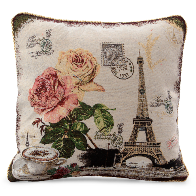 Gobelino potah na polštář Romantic Paris Dedra