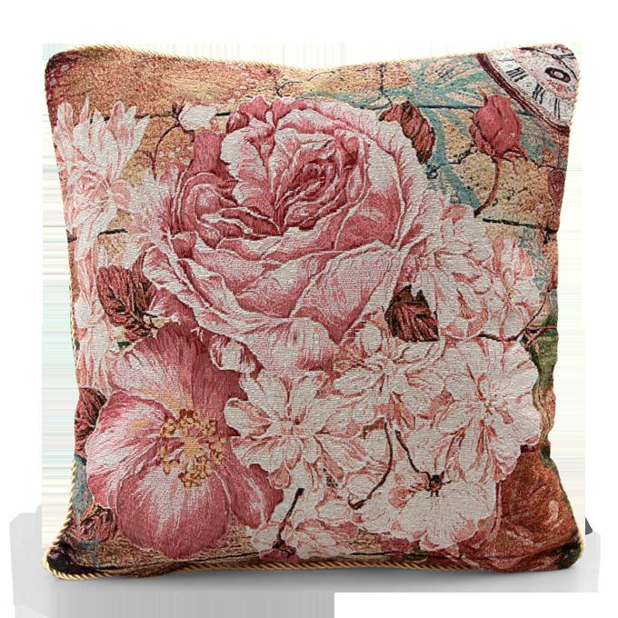Gobelino potah na polštář Romantic Flowers Dedra