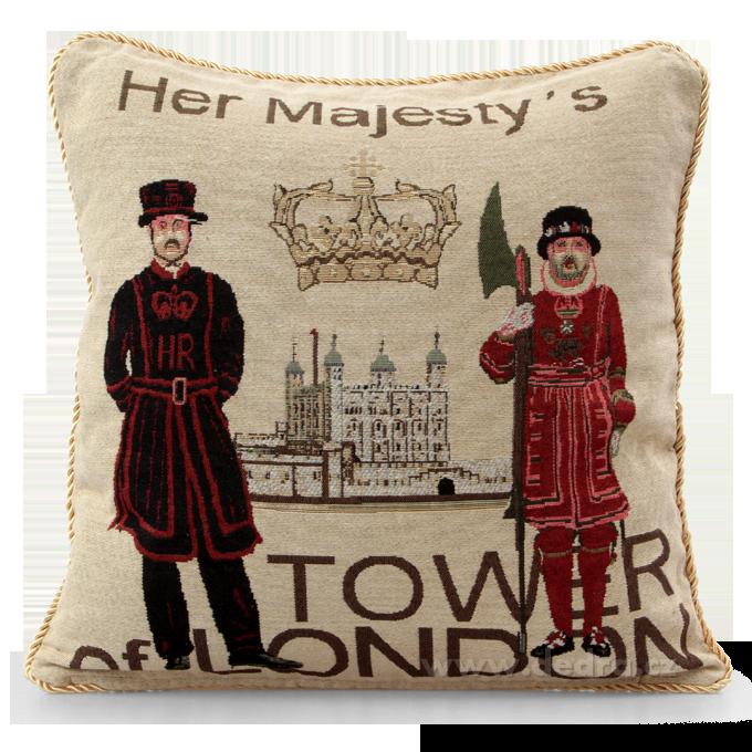 Dedra GOBELINO potah na polštář Tower of London