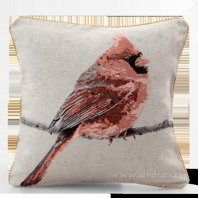 Dedra Gobelino potah na polštář bird - více barev
