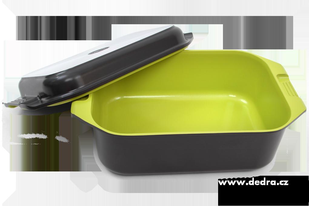 Dedra Biopan 2v1 pekáč z litého hliníku + smažící indukční , víko