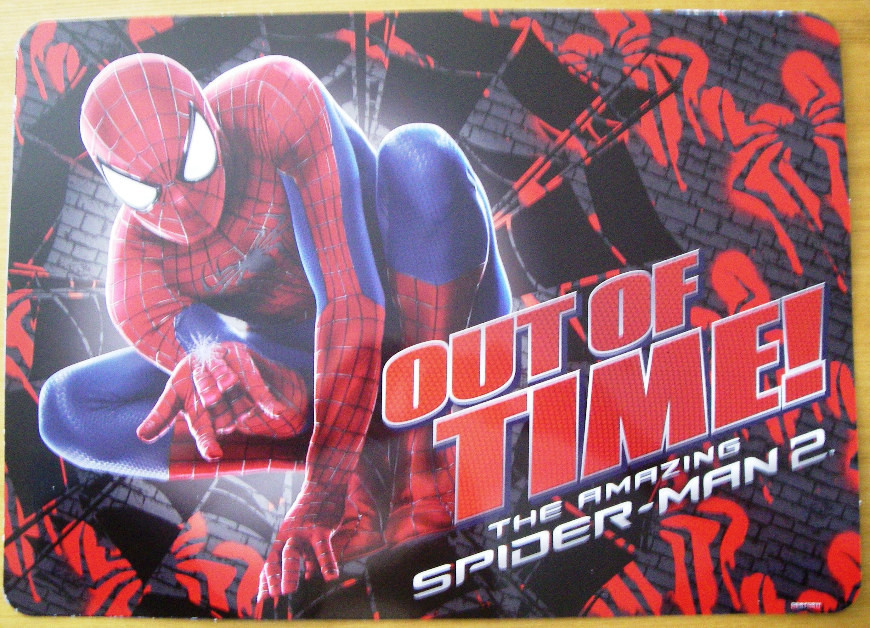 Pracovní podložka, prostírání Spiderman