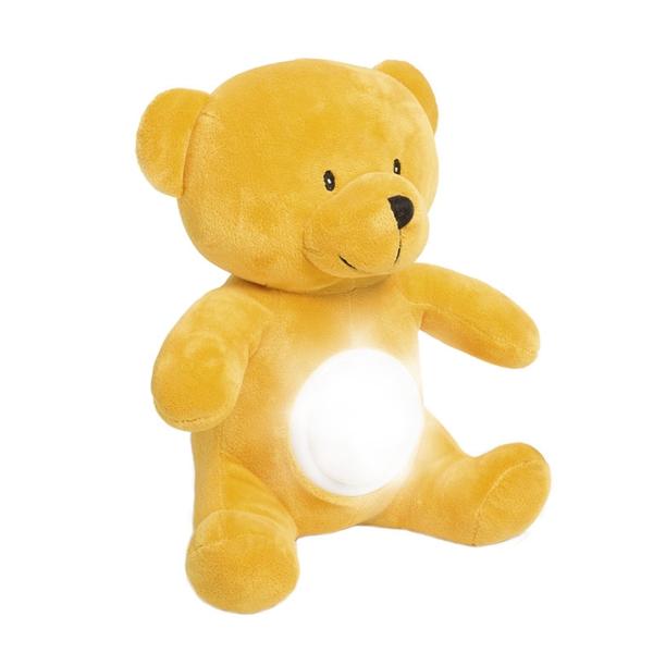 Eddy Toys svítící plyšový medvídek 30cm