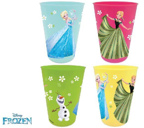 Disney Sada plastových kelímků Ledové království