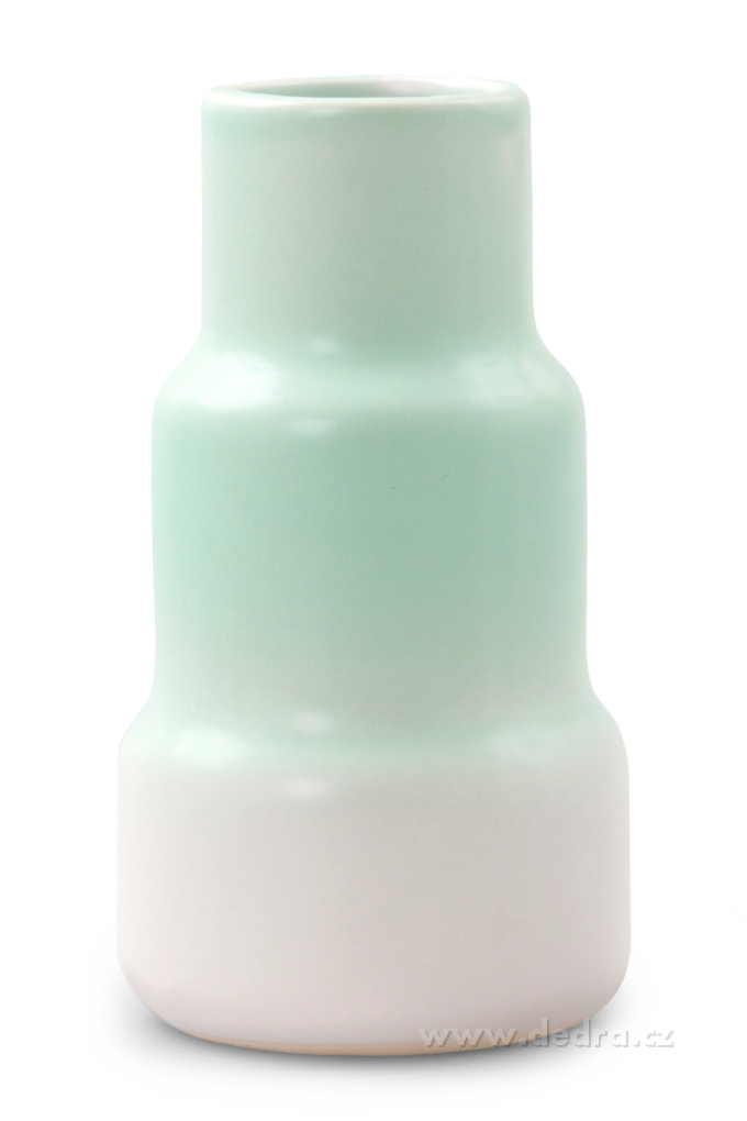 Dedra Keramická váza stupňovitého tvaru více barev
