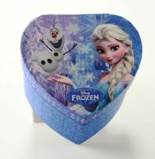 Disney Šperkovnice Ledové království, Frozen srdce modré