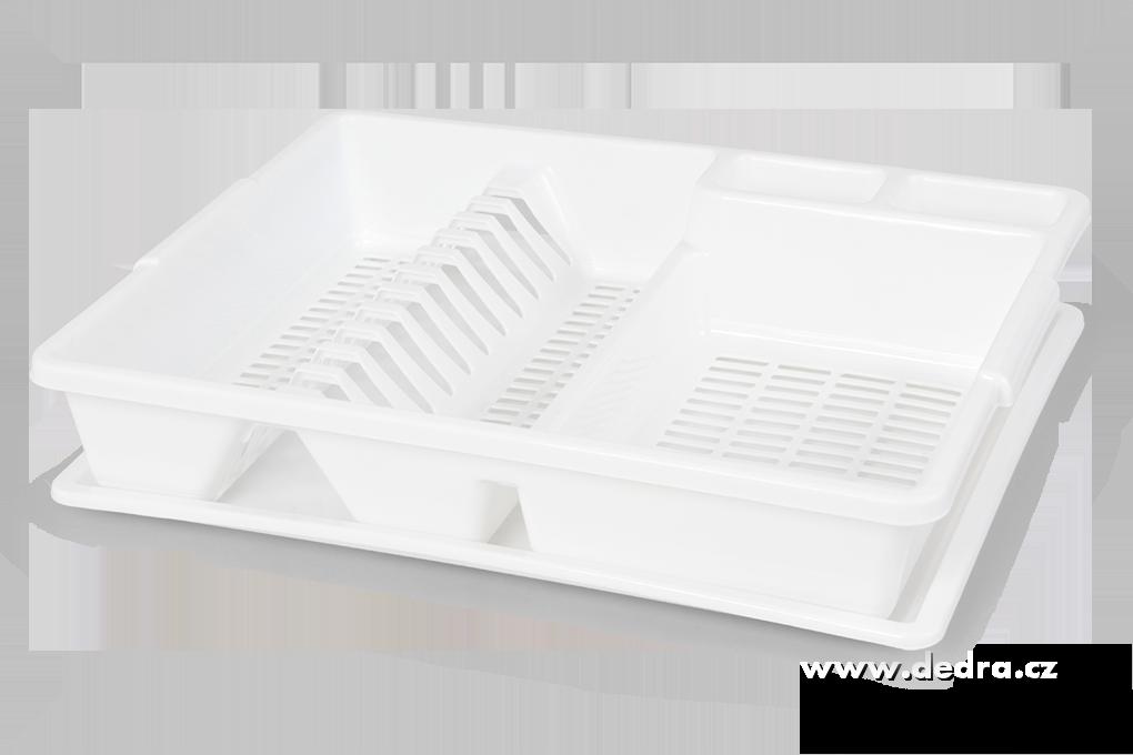 Dedra Odkapátor bílý odkapávač na nádobí