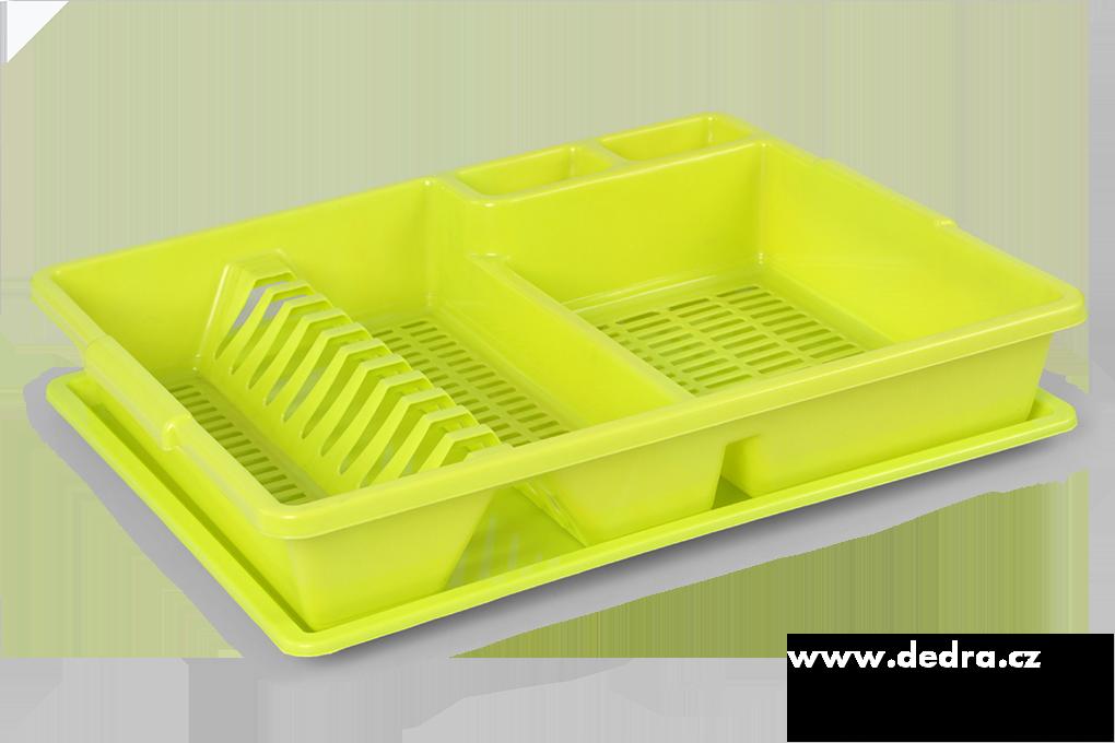 Dedra Odkapátor zelený odkapávač na nádobí