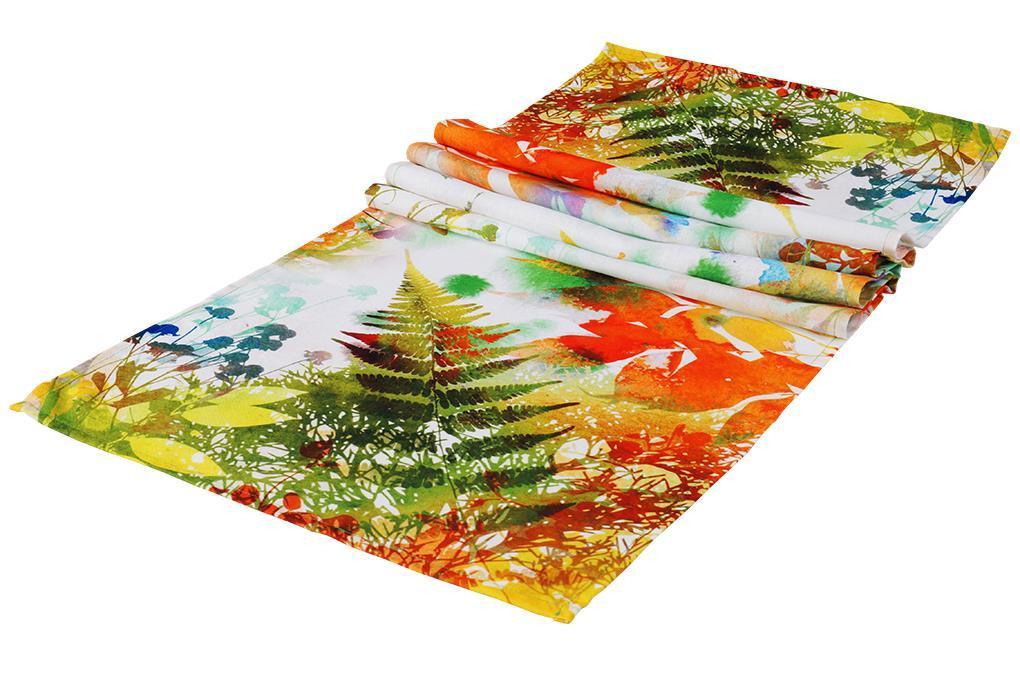 Dedra Běhoun na stůl lesní variace 40 x 15 0cm