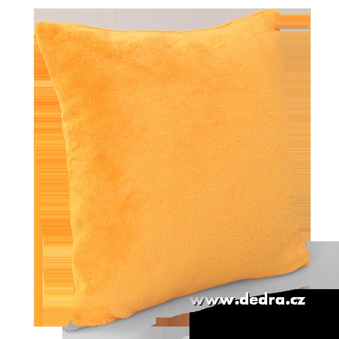 Dedra Lagoon potah na polštář svítivě oranžový