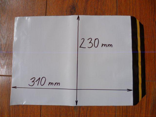 10ks plastová obálka A4 230x310+40mm klopa