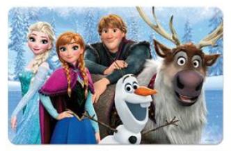 Eli 3D podložka, prostírání Ledové království, Frozen