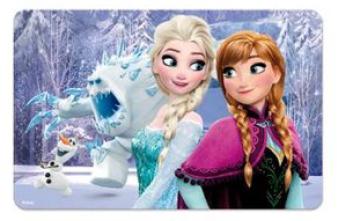 Eli 3D prostírání Ledové království, Frozen