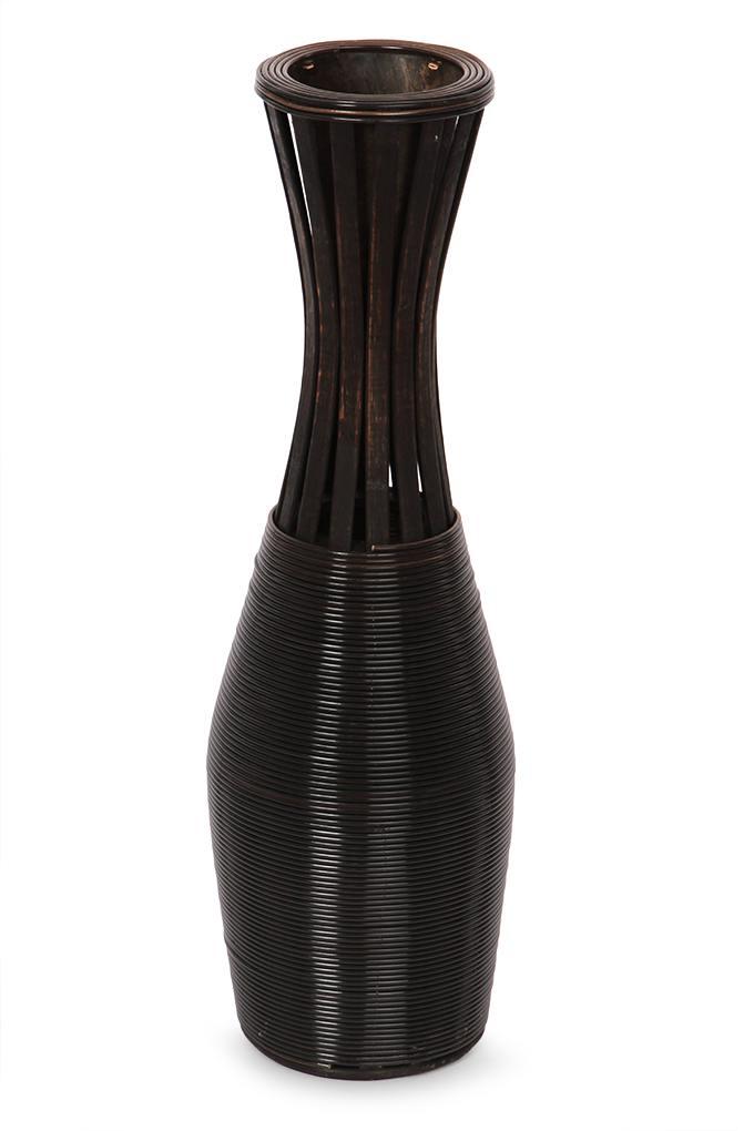Dedra Váza z bambusové dýhy výška 65,5 cm