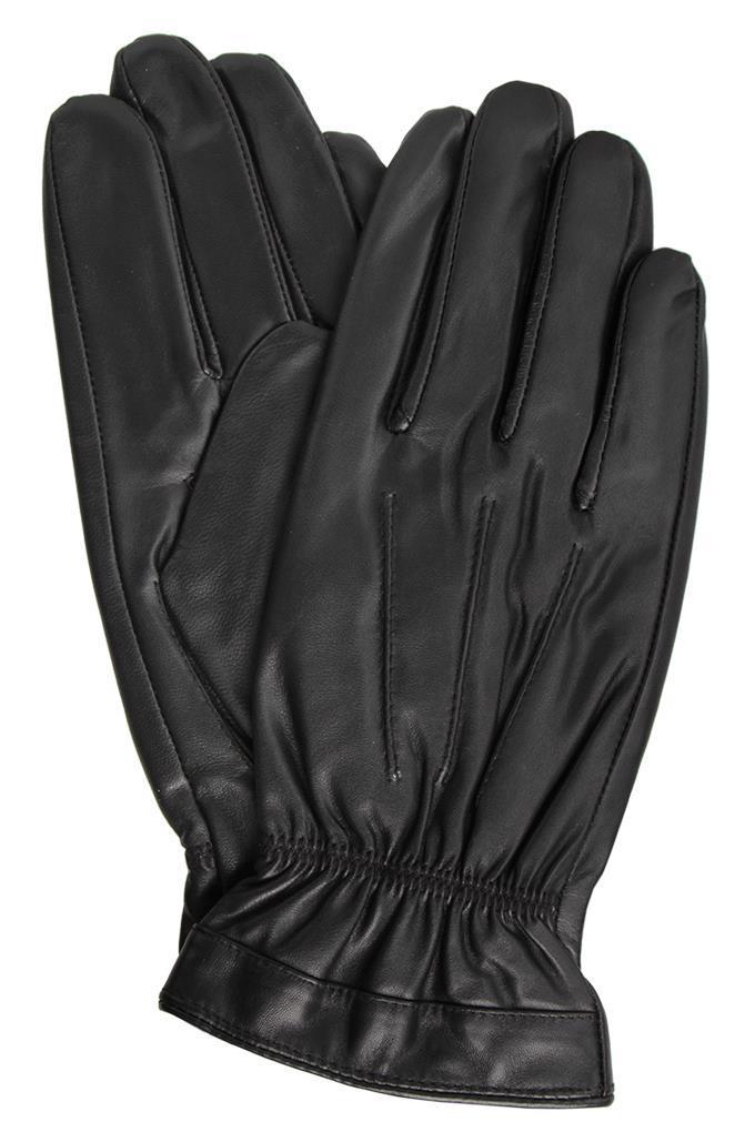 Dedra Eldon pánské rukavice kožené s ozdobným řasením