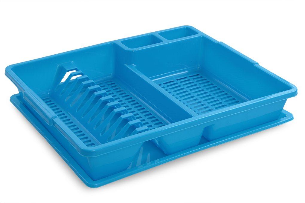 Dedra Odkapátor modrý odkapávač na nádobí