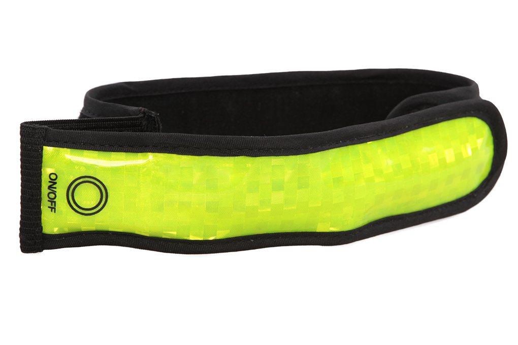 Dedra Reflexní pásek svítící / blikací na ruku či nohu