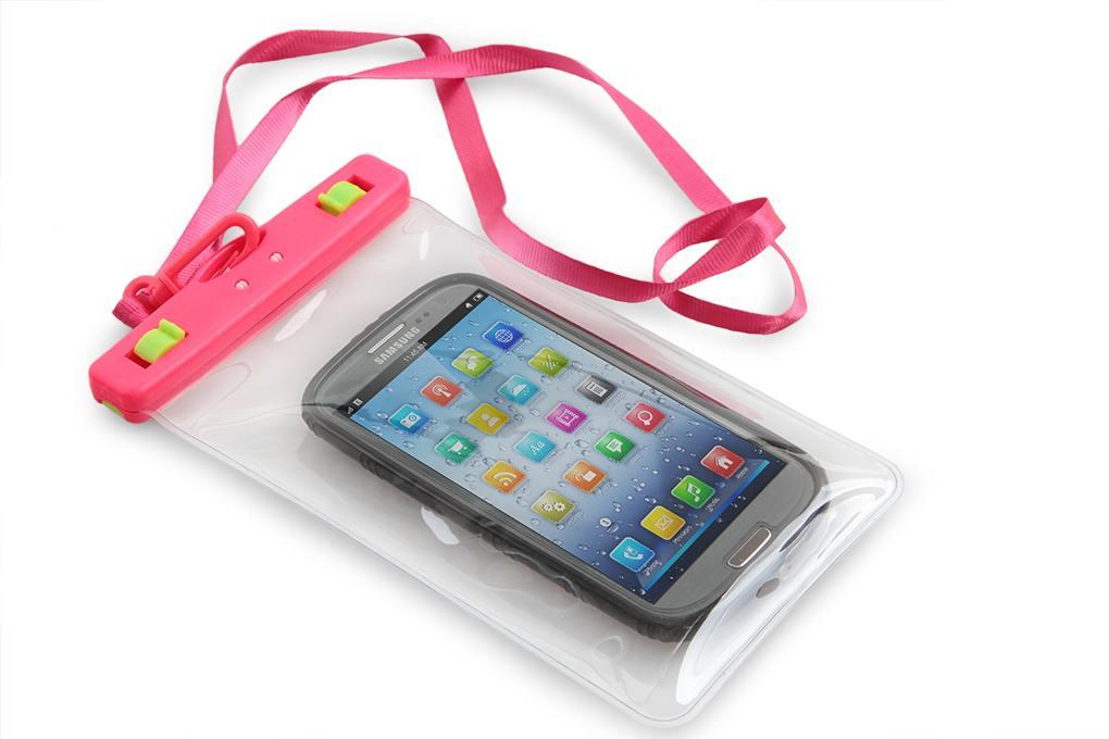 Dedra Ochranné pouzdro na mobil a osobní věci, růžové