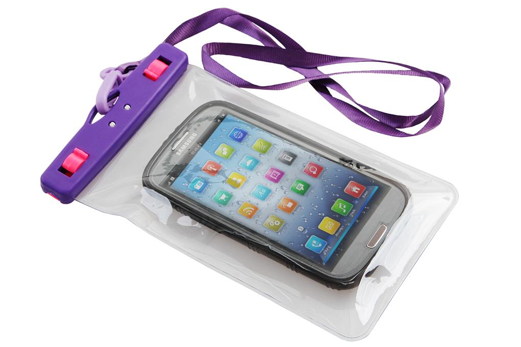 Dedra Ochranné pouzdro na mobil a osobní věci, fialové