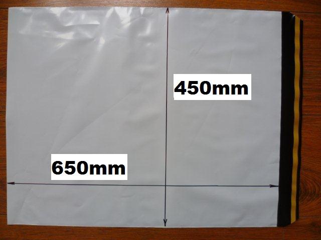 100ks plastová obálka 450x650+40mm klopa