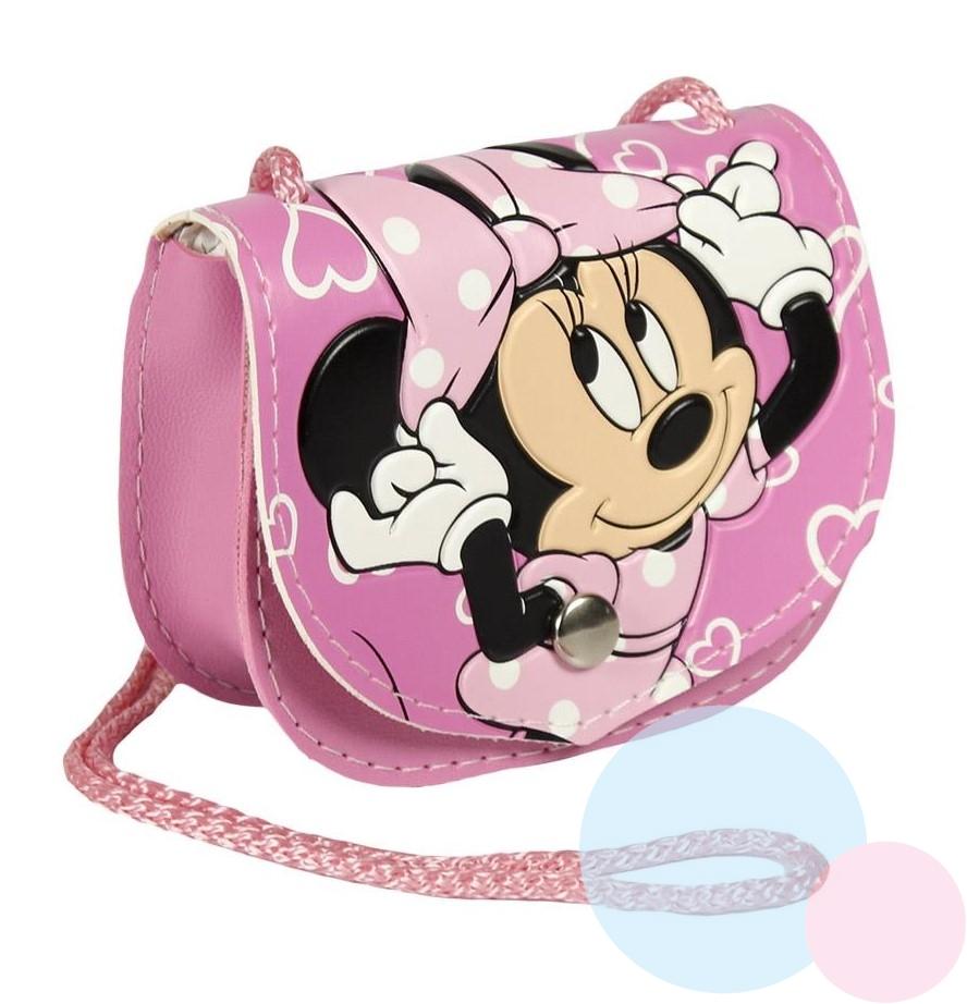 Cerda Koženková kabelka Minnie růžová