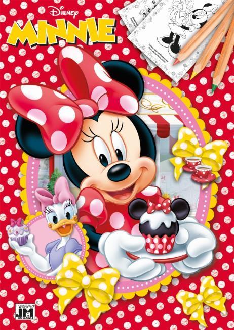 Jiri Models Omalovánky A4 Disney Minnie