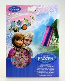 Výroba náramků Frozen, Ledové království