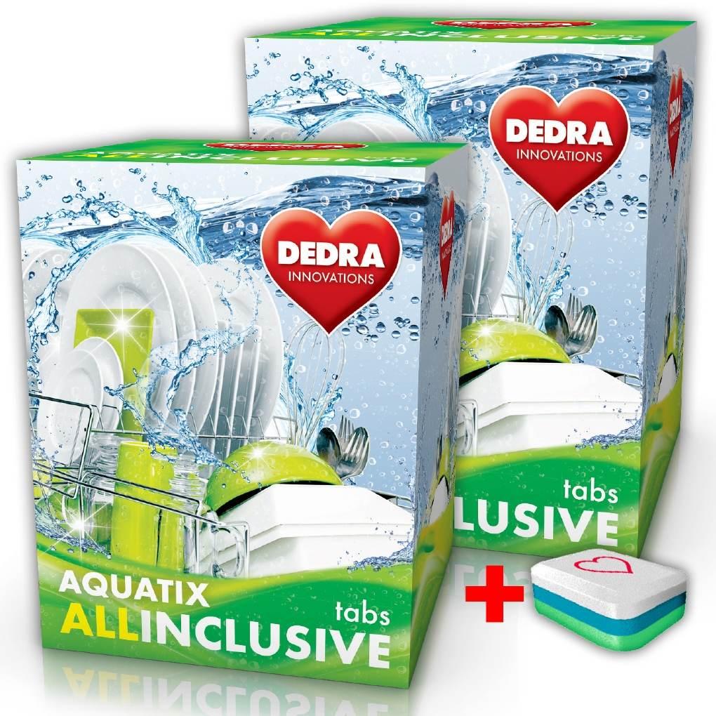 Dedra Aquatix allinclusive 60 Tabs multifunkční tablety do myčky
