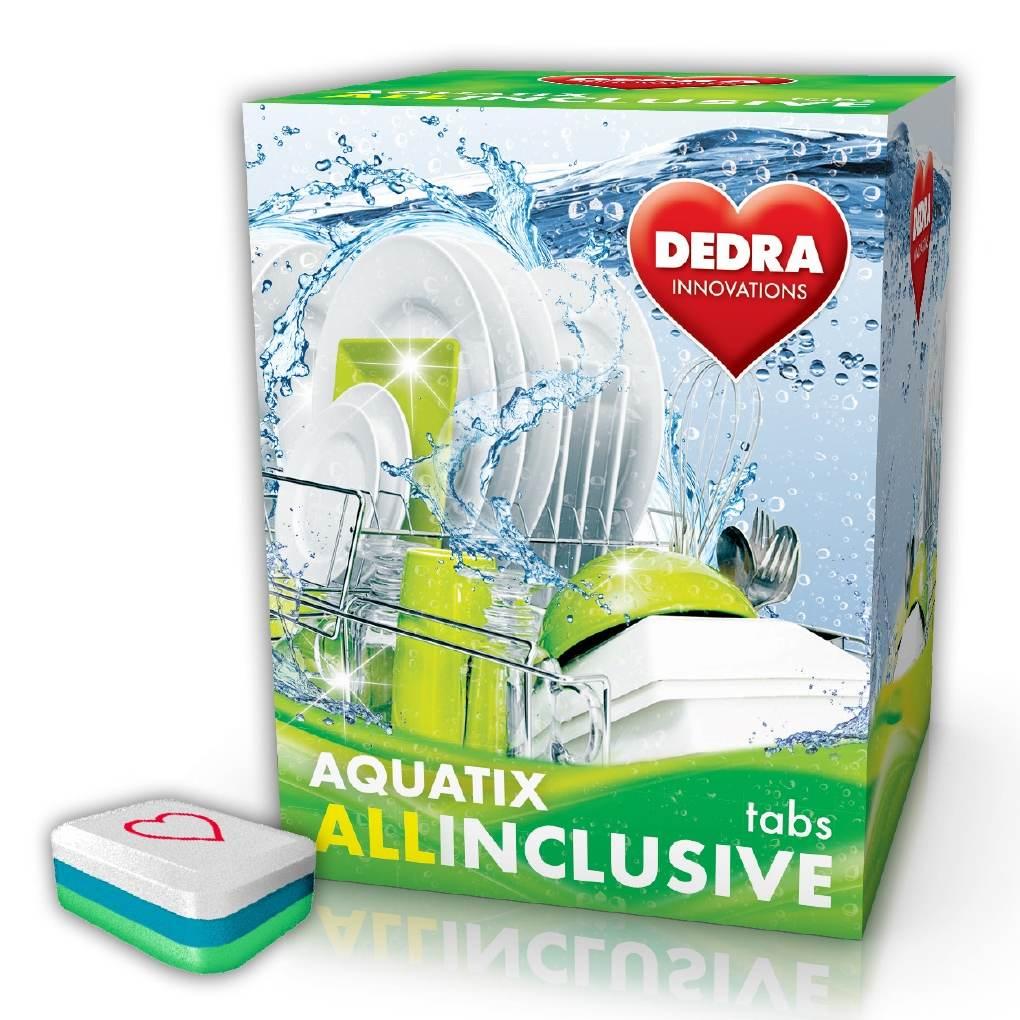 Dedra Aquatix allinclusive 30 Tabs multifunkční tablety do myčky