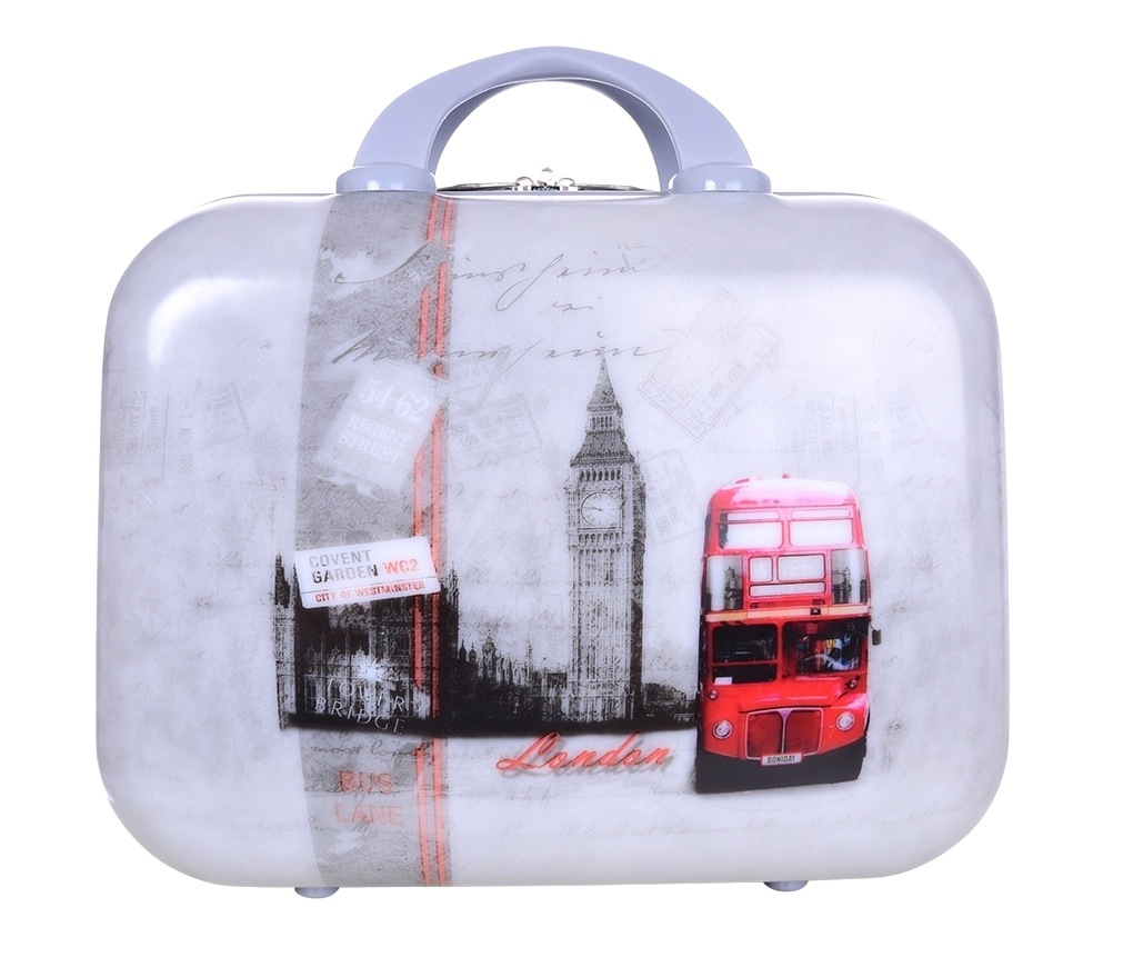 Dedra Kufr příruční větší London bus 37 x 17 x 30 cm