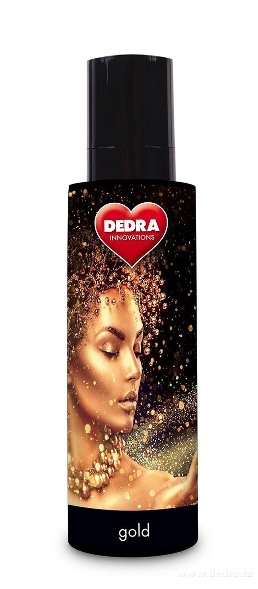 Dedra Parfum air&textiles spray gold osvěžovač vzduchu 250 ml