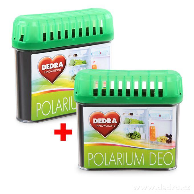 Dedra Polarium deo pohlcovač pachů do chladničky 2 x 60 g