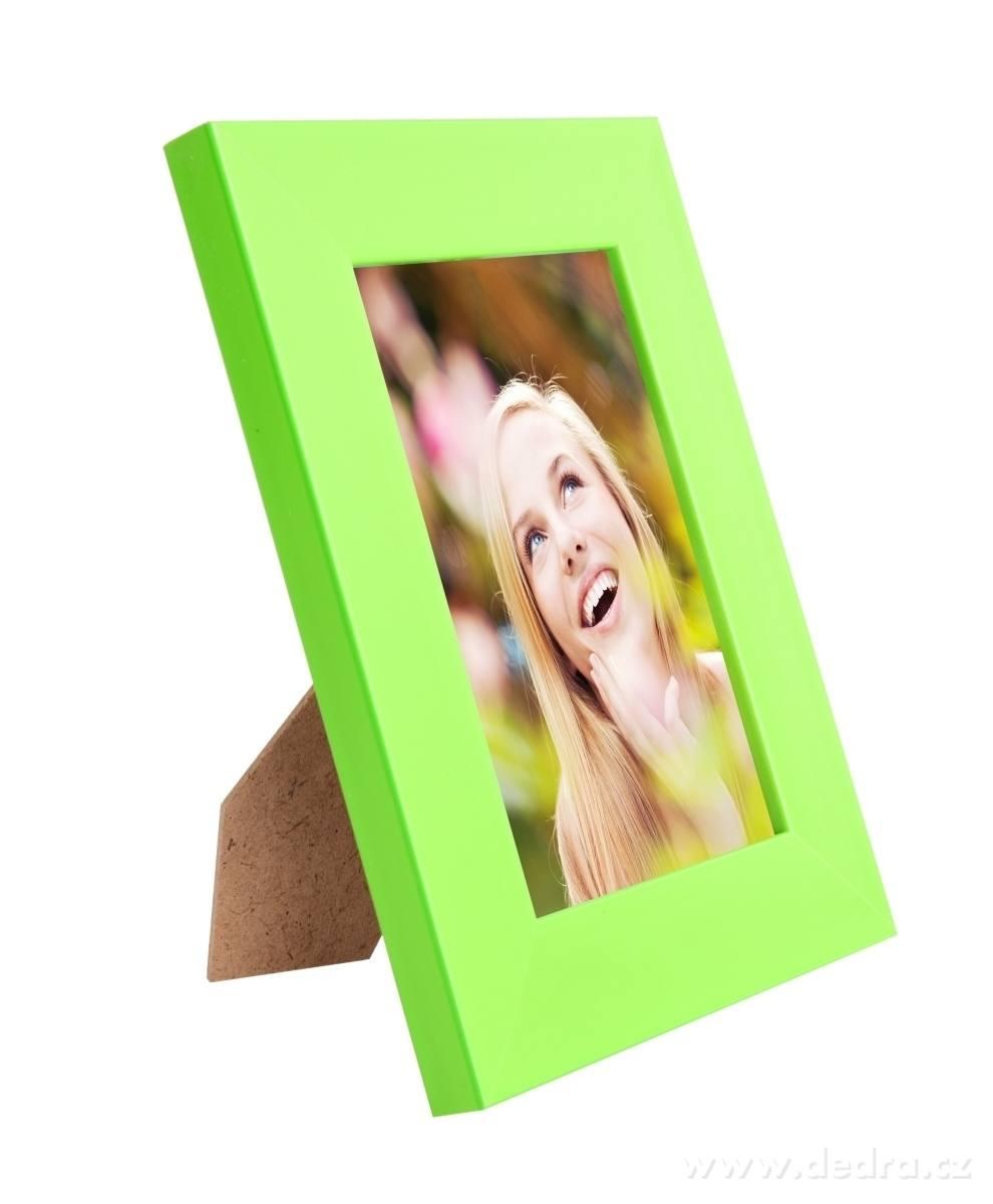 Dedra Dřevěný fotorámeček na foto 10 x 15 cm více barev