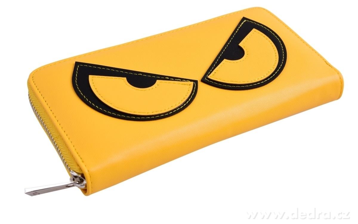 Dedra Peněženka Rebelito z ekokůže yellow