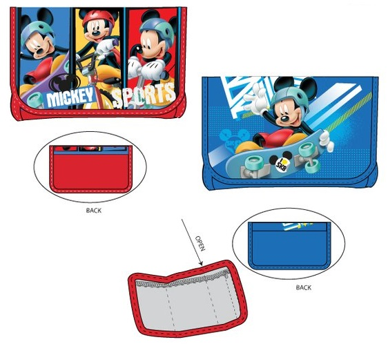 Sun City Peněženka Mickey Mouse