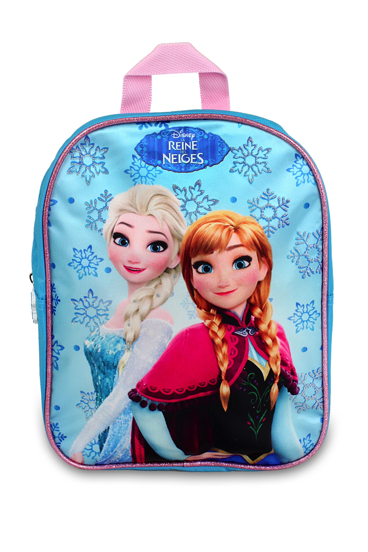 Fotografie Setino · Dětský předškolní batůžek Ledové království - Frozen - s princeznami Annou a Elsou - 30 x 24 x 8 cm