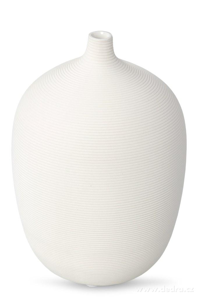 Dedra Keramická váza reliéfní struktura