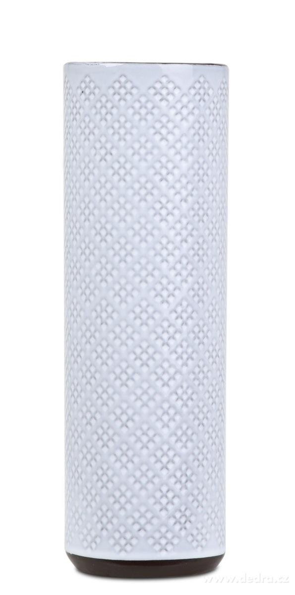 Dedra Keramická váza úzká smetanová